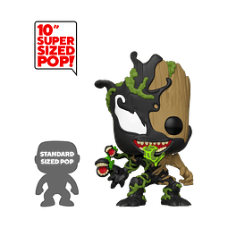 POP! Marvel Spider-Man Maximum Venom: Venomized Groot (Super Sized)