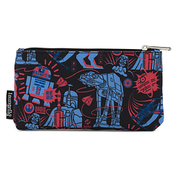 Porta-moedas Star Wars by Loungefly Empire Strikes Back 40th Anniversary