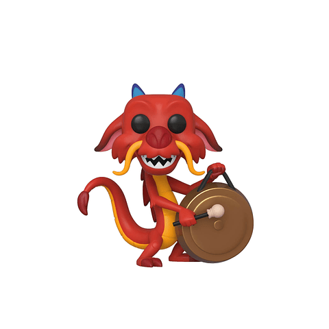 POP! Disney Mulan: Mushu with Gong
