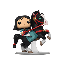POP! Rides: Disney Mulan - Mulan Riding Khan