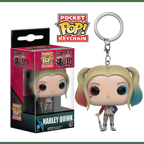 Porta-chaves Pocket POP! Suicide Squad: Harley Quinn