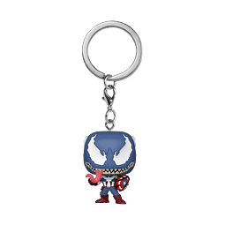 Porta-chaves Pocket POP! Marvel Venom: Venomized Captain America