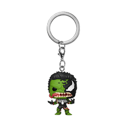 Porta-chaves Pocket POP! Marvel Venom: Venomized Hulk