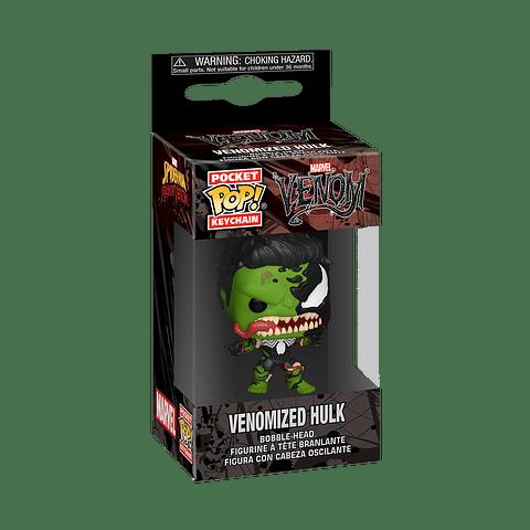 Porta-chaves Pocket POP! Marvel Venom: Venomized Hulk