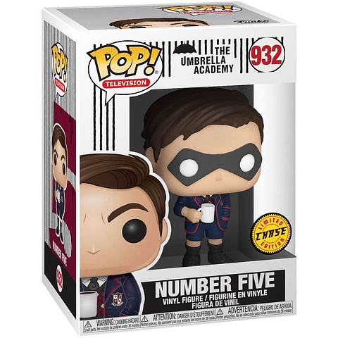 POP! TV: The Umbrella Academy - Number Five Chase Edition
