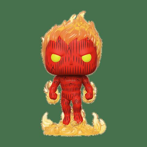 POP! Marvel Fantastic Four: Human Torch