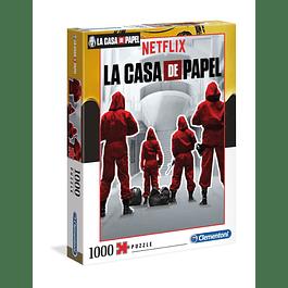 Puzzle 1000 Peças La Casa de Papel Suits