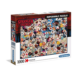 Puzzle 1000 Peças Stranger Things Impossible Puzzle Buttons