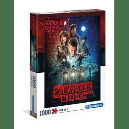 Puzzle 1000 Peças Stranger Things Season 1