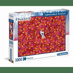 Puzzle 1000 Peças Frozen 2 Impossible Puzzle