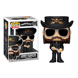 POP! Rocks: Motorhead - Lemmy Kilmister