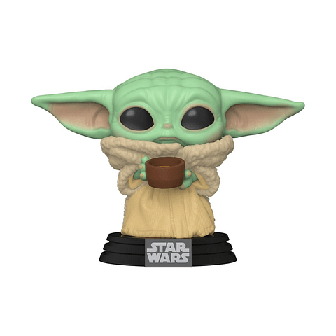 POP! Star Wars: The Mandalorian - The Child (with Cup)