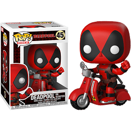 POP! Rides: Deadpool - Deadpool on Scooter