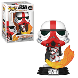 POP! Star Wars: The Mandalorian - Incinerator Stormtrooper