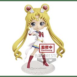 Sailor Moon Eternal Q Posket Super Sailor Moon