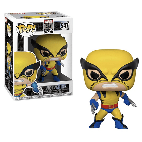 POP! Marvel 80 Years: Wolverine (First Appearance)