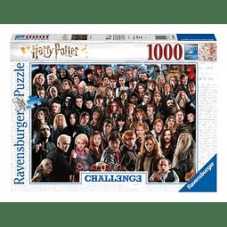 Puzzle 1000 Peças Harry Potter Challenge Cast