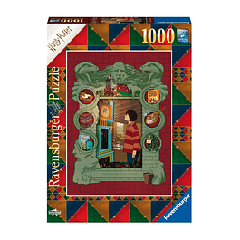 Puzzle 1000 Peças Harry Potter At The Weasley's
