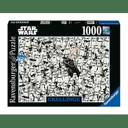Puzzle 1000 Peças Star Wars Challenge Darth Vader & Stormtroopers