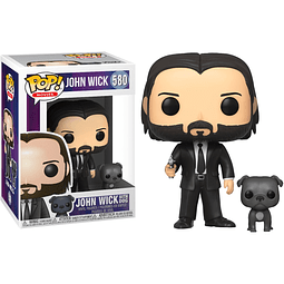POP! Movies: John Wick - John Wick with Dog