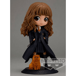 Harry Potter Q Posket Hermione Granger with Crookshanks