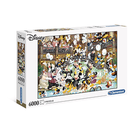 Puzzle 6000 Peças Disney Masterpiece Character Gala