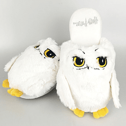 Chinelos Harry Potter Hedwig