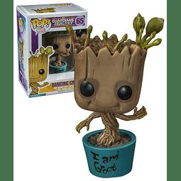 POP! Marvel Guardians of the Galaxy: Dancing Groot Edição Limitada