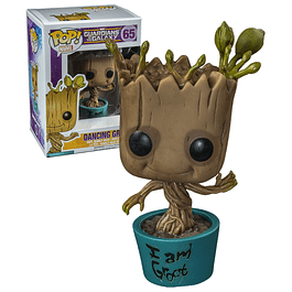 POP! Marvel Guardians of the Galaxy: Dancing Groot Edição Limitada