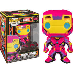 POP! Marvel Black Light: Iron Man