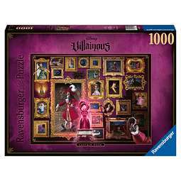 Puzzle 1000 Peças Disney VilIains Captain James Hook