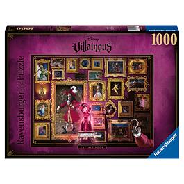 Puzzle 1000 Peças Disney VilIainous Captain James Hook