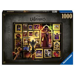 Puzzle 1000 Peças Disney VilIains Jafar