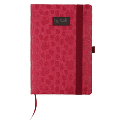 Notebook A5 Premium Red Minnie