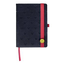 Notebook A5 Premium Mickey Button