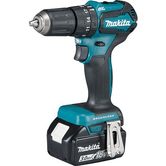 Taladro Percutor Makita DHP483RFE 18v Brushless