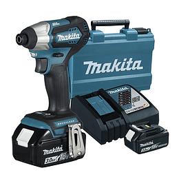 Atornillador de impacto Makita DTD155RFE 3.0 A.H Brushless