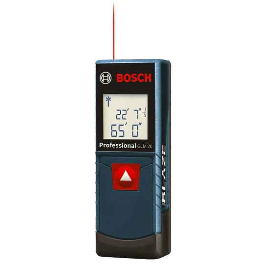 Medidor distancia lasér Bosch GLM 20 Fuente de alimentación 2 x 1,5 V LR03 (AAA)