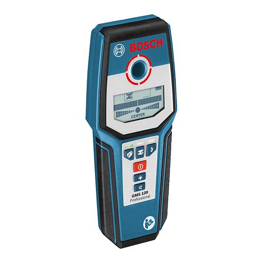 Detector de Materiales GMS 120 Alimentación de tensión 1 x 9 V 6LR61 Bosch