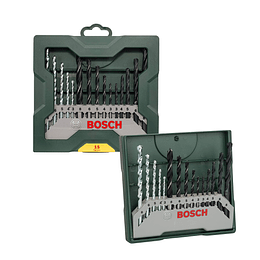 Set mixto Mini-X-Line Bocsh de 15 piezas