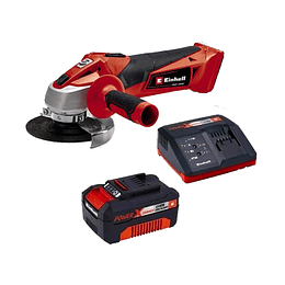 Kit Esmeril Angular Inalambrico Einhell Tc-ag 18/115 Li