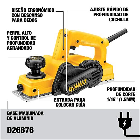 Cepillo Eléctrico 1mm 550w Dewalt D26676-b2