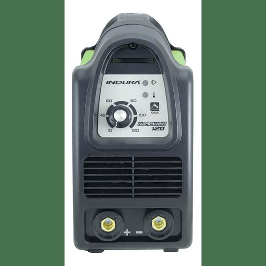 Soldadora Inverter Arco Manual - 120 Amp Indura verde