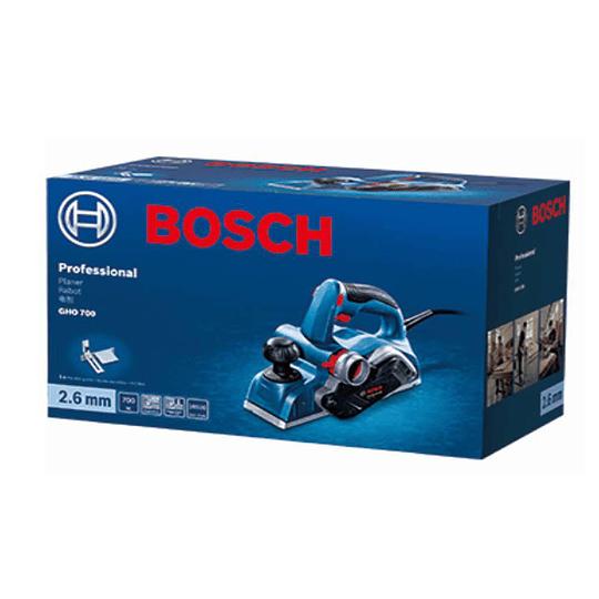 Cepillo Eléctrico Bosch Gho 700 700w Bosch