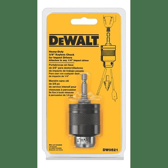 Adaptador Portabrocas Conexión Rapida Dewalt Dw0521