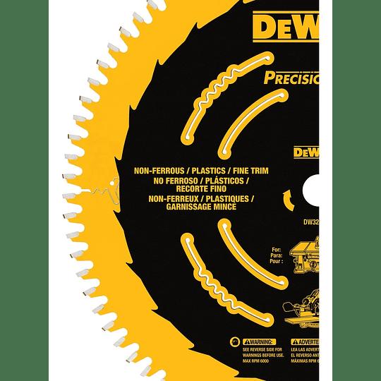 Disco De Sierra 10'' Eje 5/8'' (16 Mm) Dewalt Dw3219pt