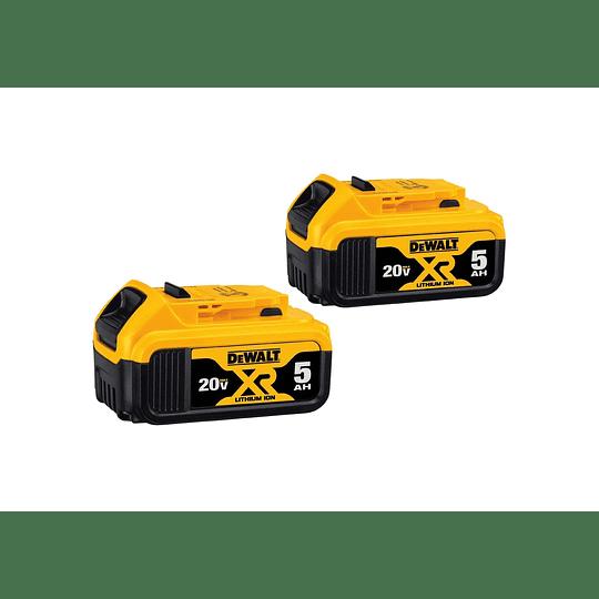 Rotomartillo Sds Plus 20v + 2 Baterías Dewalt Dch263p2