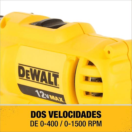 Kit Taladro Atornillador + Atornillador de Impacto 12v Dewalt DCK199C2