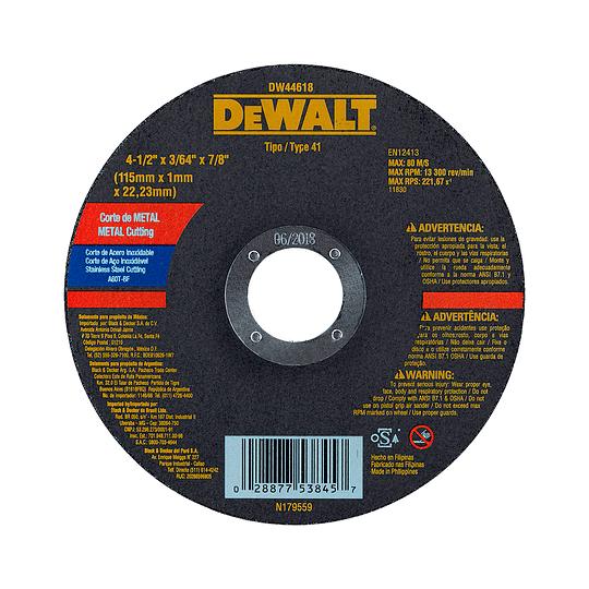 Esmeril 700w + Disco Corte Metal Ac/inox Dewalt Dwe4010