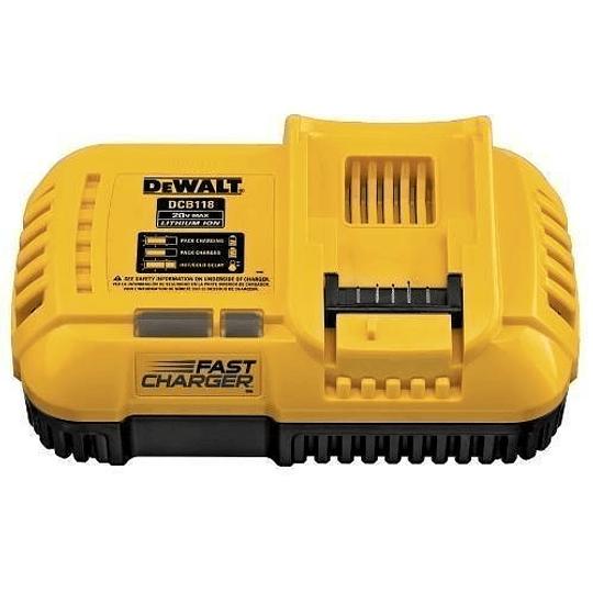Cargador de baterías Ion-Litio Flexvolt Dewalt DCB118-B2 20V-60V